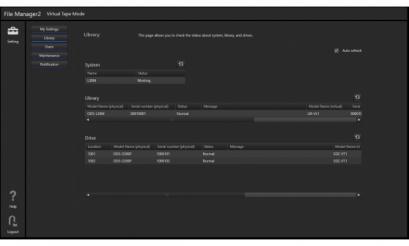 Virtual Tape mode License for FM2