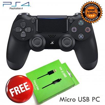 จอย PS4 สีดำ
