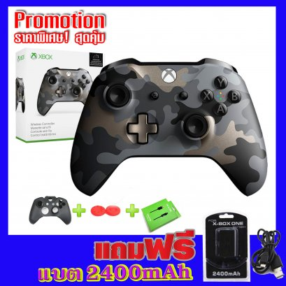 จอย Xbox One Wireless Controller GEN 3  รุ่น Night Ops Camo Special Edition