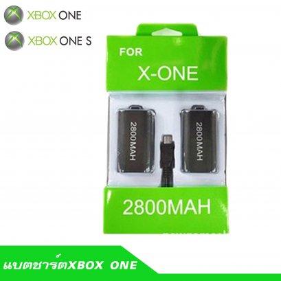 แบตxbox one / xbox one S 2ก้อนพร้อมสายชาร์ต