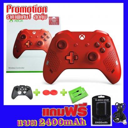 จอย xbox one s sport red ลิมิเต็ด (Gen3)