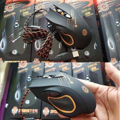 Neolution E-Sport Monster Black