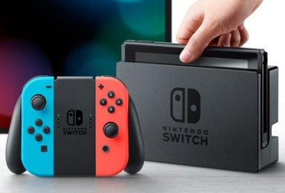 Nintendo Switch Neon Asia Eng