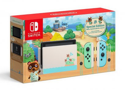 พร้อมส่ง!! เครื่อง New Nintendo Switch Animal Crossing New Horizons Edition