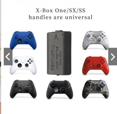 แบตชาร์จพร้อมสายชาร์จ Xbox Series S X Controller  ขนาด1400mAh 2 in 1 For Xbox Series S / X Controller