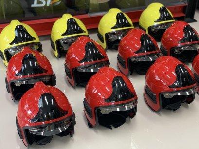 หมวกดับเพลิง FTK มาตรฐานยุโรป EN433:2008
