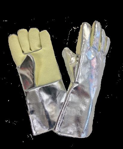 Aluminized Para Aramid Gloves