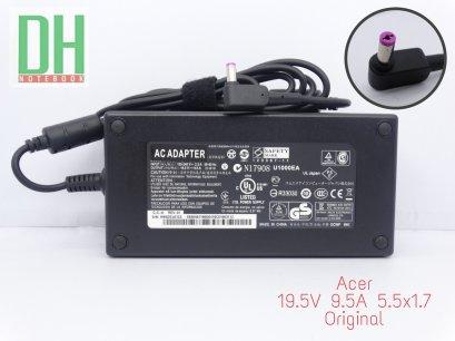 Acer Adapter 19.5V 9.5A (5.5*1.7) เเท้