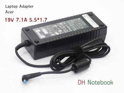 Adapter Acer 19V 7.1A 5.5*1.7 Acer Aspire ADP-135KB T 5.5*1.7mm AC/DC เเท้