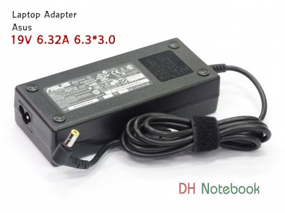 Adapter Asus 19V 6.32A 6.3*3.0mm slim ของเเท้
