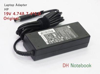 Adapter HP 19V 4.74A 7.4*5.0 ของแท้