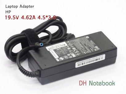 Adapter HP 19.5V 4.62A 4.5*3.0 ของแท้