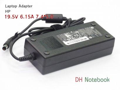 Adapter For HP 19.5V 6.15A (7.4*5.0) ของแท้