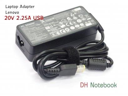 Adapter For LENOVO 20V 2.25A USB