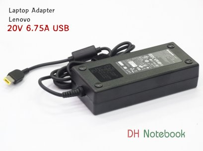 Adapter Lenovo 20V 6.75A USB pin Charger ForT440p T530 T540p W540