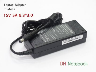 Adapter TOSHIBA 15V 5A 6.3*3.0