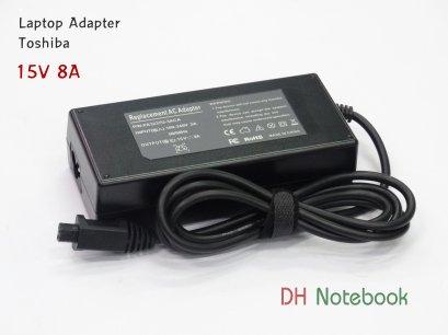 Adapter Toshiba 15V 8A 4pin เเท้