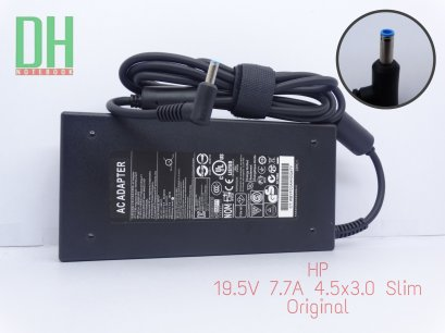 Adapter HP 19.5V 7.7A (4.5*3.0) slim เเท้