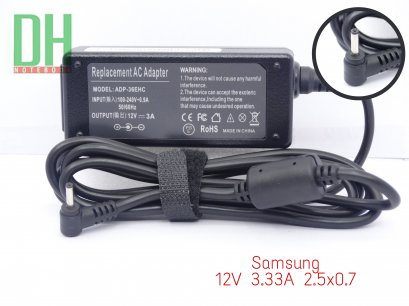 Adapter Samsung 12V 3.33A (2.5*0.7)
