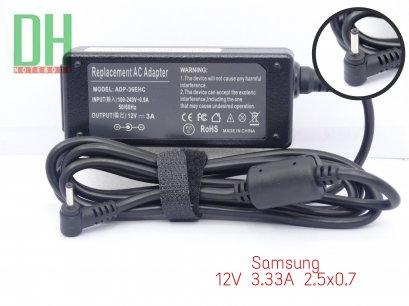 Adapter Samsung 12V 3.33A (2.5*0.7)