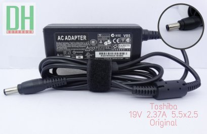 Adapter Toshiba 19V 2.37A (5.5*2.5) เเท้