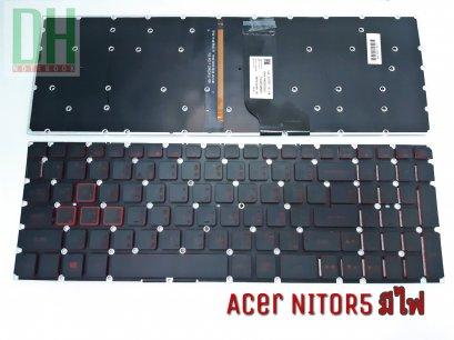 .Acer NITOR5 มีไฟ Keyboard