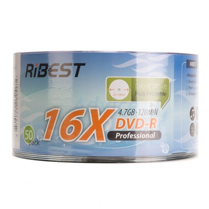 DVD-R RIBEST Printable (50/Pack)