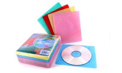 ซองใส่ CD 2 หน้า แพค 100 ซอง