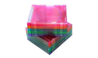 กล่องใส่ CD SLIM คละสี