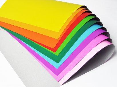 กระดาษโปสเตอร์สีแข็งหน้าเดียว ( 50 แผ่น )