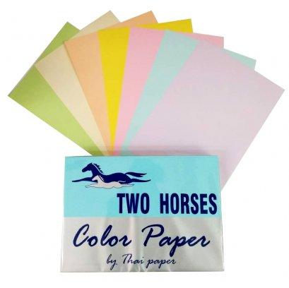 กระดาษการ์ดสี 80 แกรม (บรรจุ 500 แผ่น)