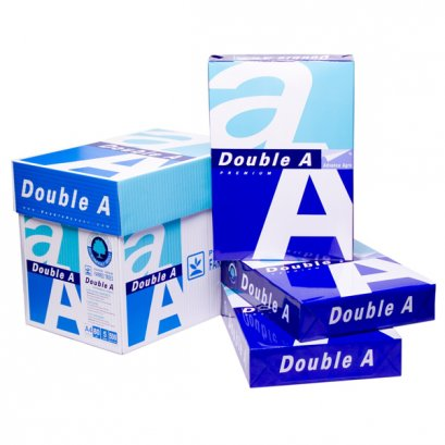 กระดาษถ่ายเอกสาร A4 80 แกรม (แพ็ค 5 รีม) Double A