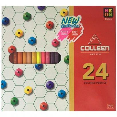 สีไม้คลอรีน 24 สี
