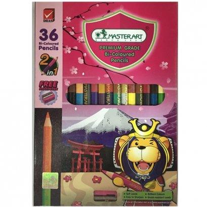 มาสเตอร์อาร์ท สีไม้ 2 หัว 36 สี