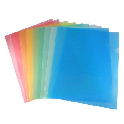 แฟ้มสอดพลาสติก A4 (แพ็ค 12 เล่ม)