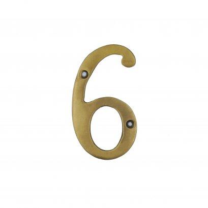 ตัวเลขบาง เรียบ - 6