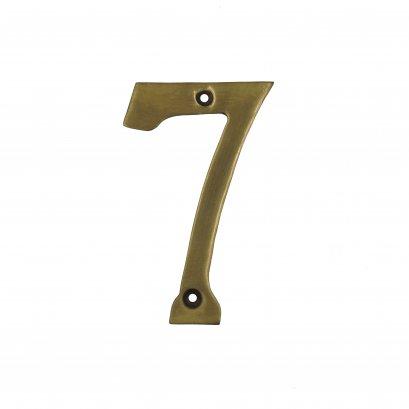 ตัวเลขบาง เรียบ - 7