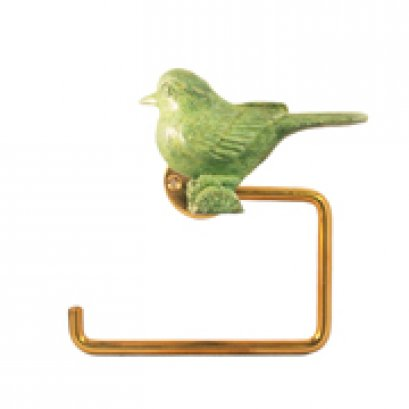 ทิชชู่ - นกกระจอก (เขียว)