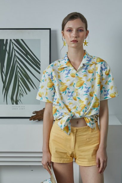 LMN10 - Sweet Lemonade Hawaiian Unisex Shirt - In Stock 25th Dec