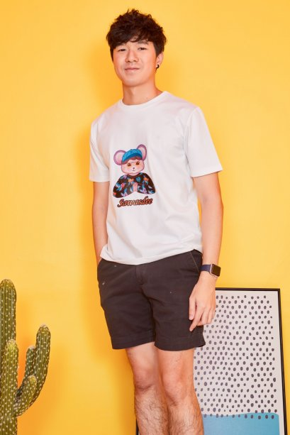 SD03 - Unisex Sawasdee Mouse T-Shirt - In Stock Now