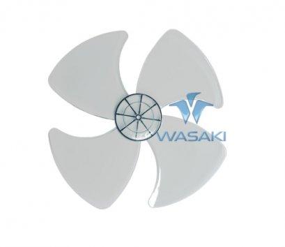 ใบพัดลม ใบใส ขนาด 12 นิ้ว ยี่ห้อ WASAKI