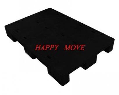 พาเลทพลาสติกแบบทึบสีดำ1000x1200x150mm.  55247