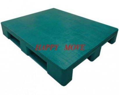 55278พาเลทพลาสติกแบบทึบสีเขียว1000x1200x160mm.