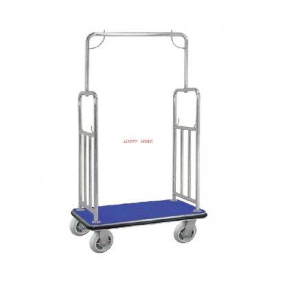 รถเข็นกระเป๋าโรงแรมแบบมาตรฐาน (Standard Luggage Trolley) Happy Move 54365
