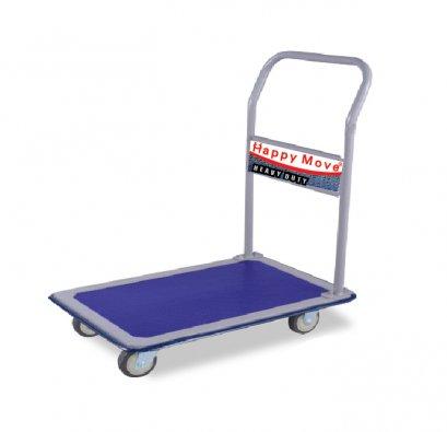 รถเข็นของพื้นเหล็กแฮนด์พับไม่ได้ 200-450 กก.Happy Move 40151,40168