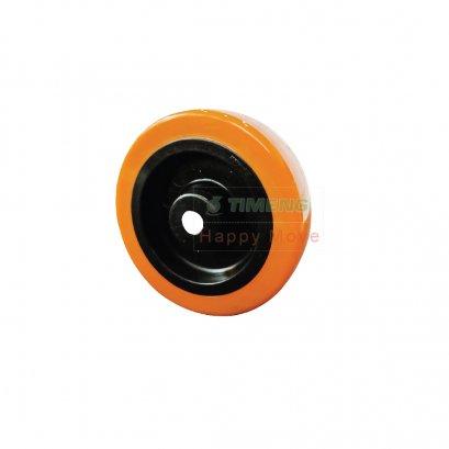 """37113 4"""" ลูกล้อโพลียูรีเทนสีส้ม รุ่น Mover ยี่ห้อ Pareo"""