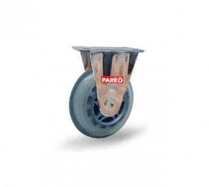 ลูกล้อโพลียูรีเทนใส รับน้ำหนัก60-90กก.แป้นตาย รุ่น MOVER  ยี่ห้อ PAREO 41905