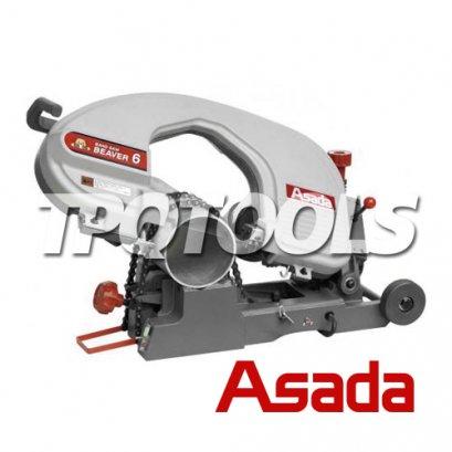 เครื่องเลื่อยเหล็ก (แบบสายพาน) Cutting Machine รุ่น BAND SAW BEAVER 6