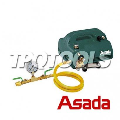 """เครื่องตรวจสอบรอยรั่ว ปั๊มเทสท่อแบบไฟฟ้า """"อาซาด้า"""" ASADA รุ่น EP-40"""
