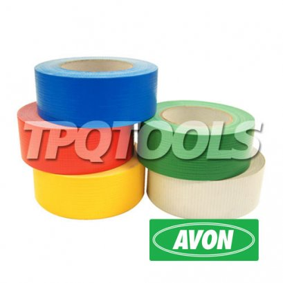 เทปพลาสติก Coloured Waterproof Cloth (Duct) Tape